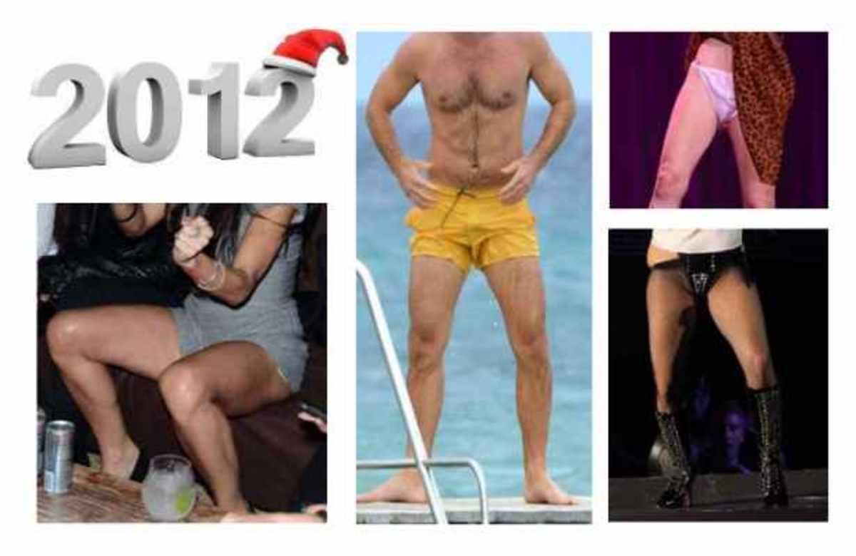 2012! Οι πιο άβολες στιγμές των διασήμων | Newsit.gr