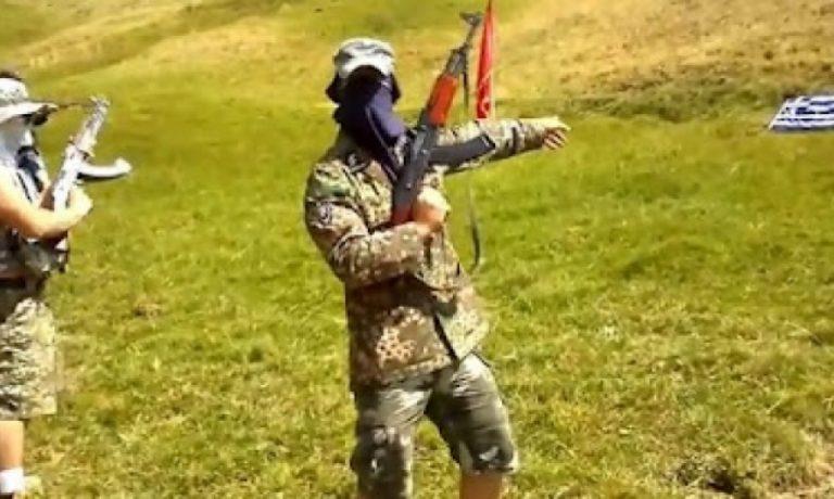 Αχαϊα:Αλβανοί απειλούν, πυροβολούν και καίνε την ελληνική σημαία-Βίντεο ντοκουμέντο! | Newsit.gr