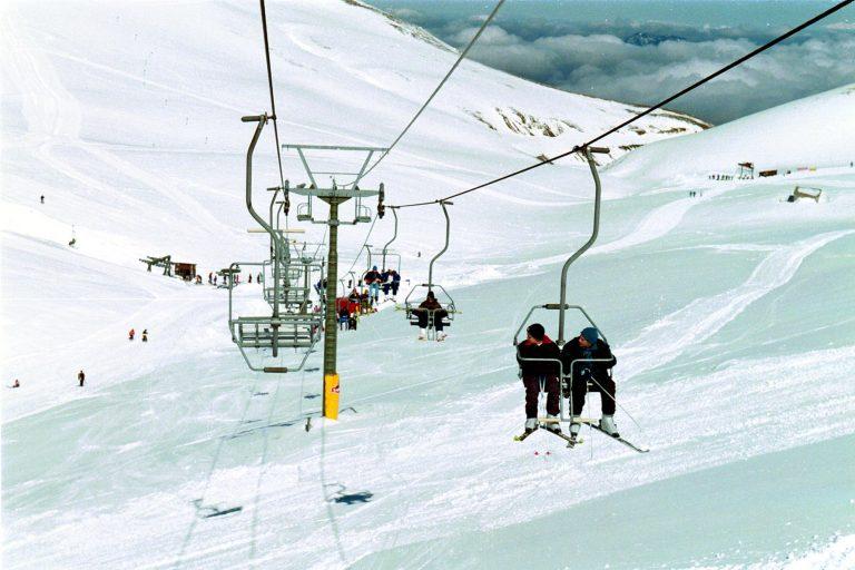 Καρπενήσι: Ο ήλιος και οι βροχές, έκλεισαν το χιονοδρομικό κέντρο -Δείτε το βίντεο! | Newsit.gr