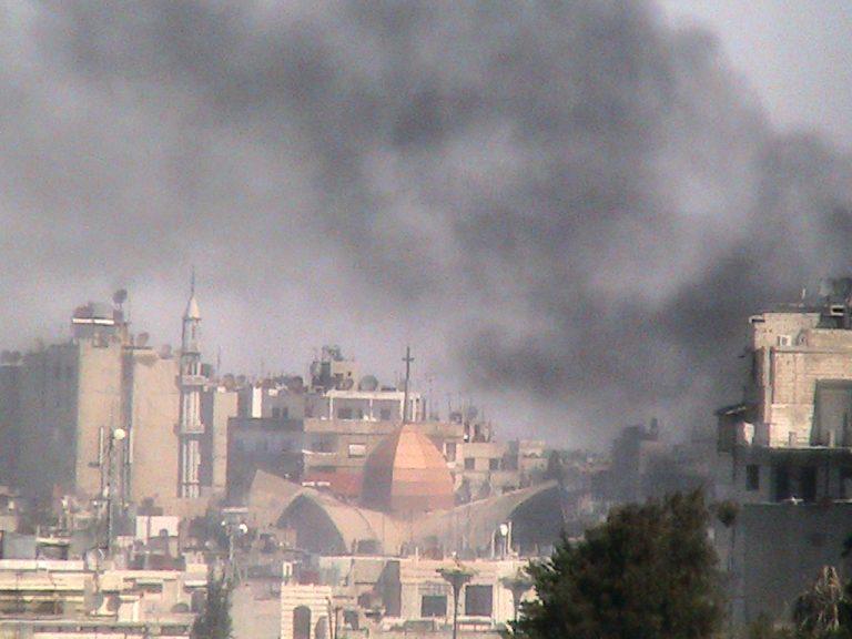 Νέοι βομβαρδισμοί τη Συρία   Newsit.gr