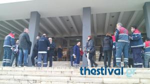 Θεσσαλονίκη: Εργαζόμενοι του ΕΚΑΒ στα δικαστήρια – »Βράζουν» με τη διοίκηση [pics, vid]