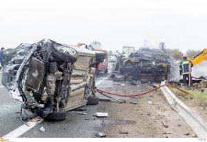 Θεσσαλονίκη: Δύο νεκροί σε τροχαία – Αίμα στην Εγνατία και την εθνική οδό!
