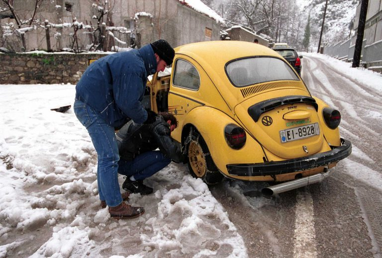 Αντιολισθητικές αλυσίδες χρειάζονται στη Δυτική Μακεδονία | Newsit.gr