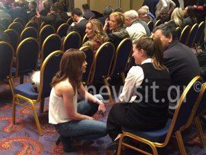 Συνεδρίαση Κ.Ε. ΣΥΡΙΖΑ: Η «άγνωστη» αδελφή του Τσίπρα, τα άνθη πορτοκαλιάς και η ροκ Αχτσιόγλου [pics]