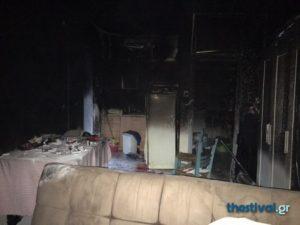 Θεσσαλονίκη: Πέθανε από τη φωτιά που έβαλε η σύντροφός του!