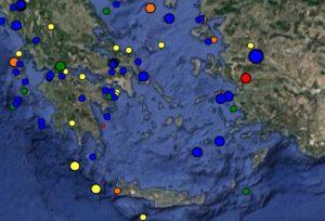Σεισμός τώρα βόρεια της Μονεμβασιάς – Αισθητός στο νομό Λακωνίας [pic]