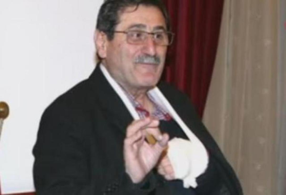 Καιρός: Γλίστρησε στον πάγο και έσπασε το χέρι του – Η περιπέτεια του Κώστα Πελετίδη [pic] | Newsit.gr