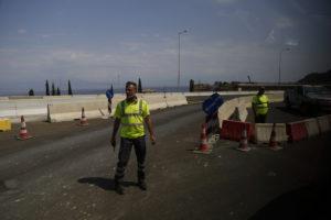Θεσσαλονίκη: Συνεχίζονται τα έργα στην περιφερειακή – Τι πρέπει να ξέρουν οι οδηγοί…