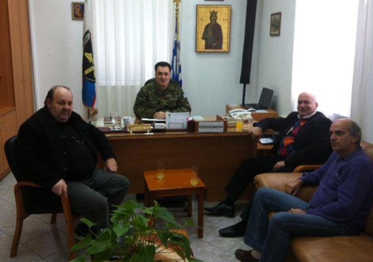 Θήβα: Οι ευχαριστίες στον διοικητή του ΚΕΠΒ για τους νεοσύλλεκτους στρατιώτες | Newsit.gr