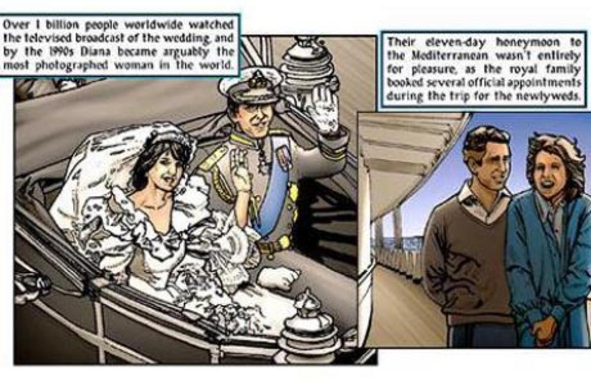 H Lady D σε κόμικ! | Newsit.gr