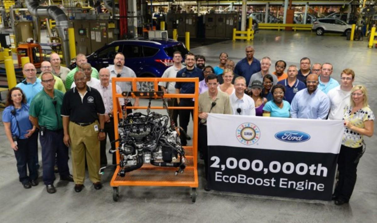 2.000.000 κινητήρες EcoBoost από την  Ford