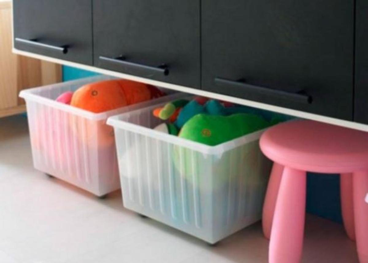 Λύσεις για να αποθηκεύεις τα παιχνίδια του παιδιού! | Newsit.gr