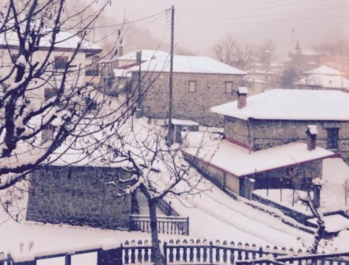 Καιρός: Το εκπληκτικό χωριό της Ηπείρου που ξύπνησε στους -11 βαθμούς Κελσίου [pics]   Newsit.gr