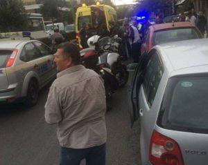 Ηράκλειο: Χτύπησε σε τροχαίο αστυνομικός της ΔΙΑΣ – Έπεσε από τη μηχανή που οδηγούσε [pics]