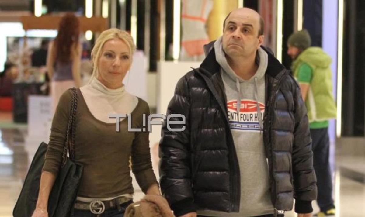 Μ. Σεφερλής – Ε. Τσαβαλιά: Βόλτα για ψώνια στα μαγαζιά! Φωτογραφίες | Newsit.gr