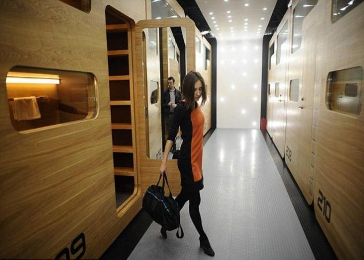 Το πρώτο ξενοδοχείο-κάψουλα στη Μόσχα είναι γεγονός! | Newsit.gr