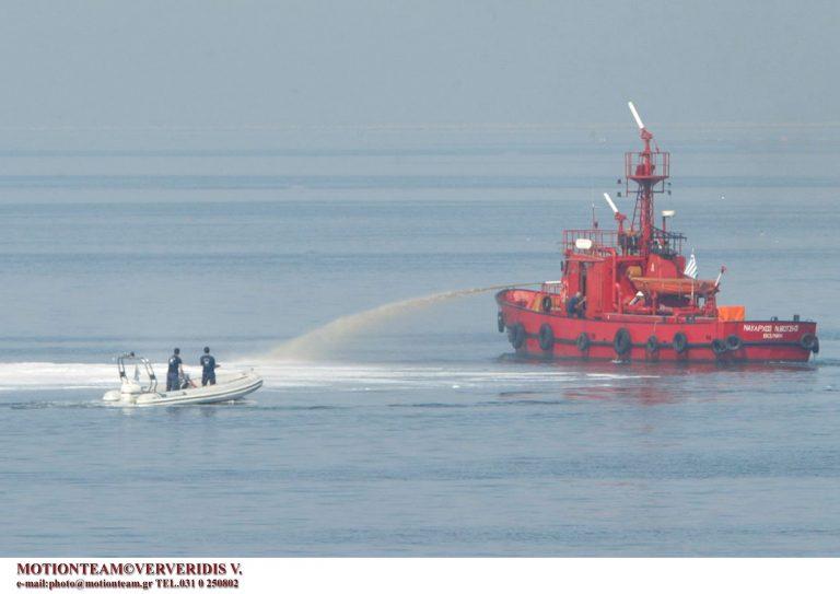 Θαλάσσια ρύπανση στην Ελευσίνα | Newsit.gr