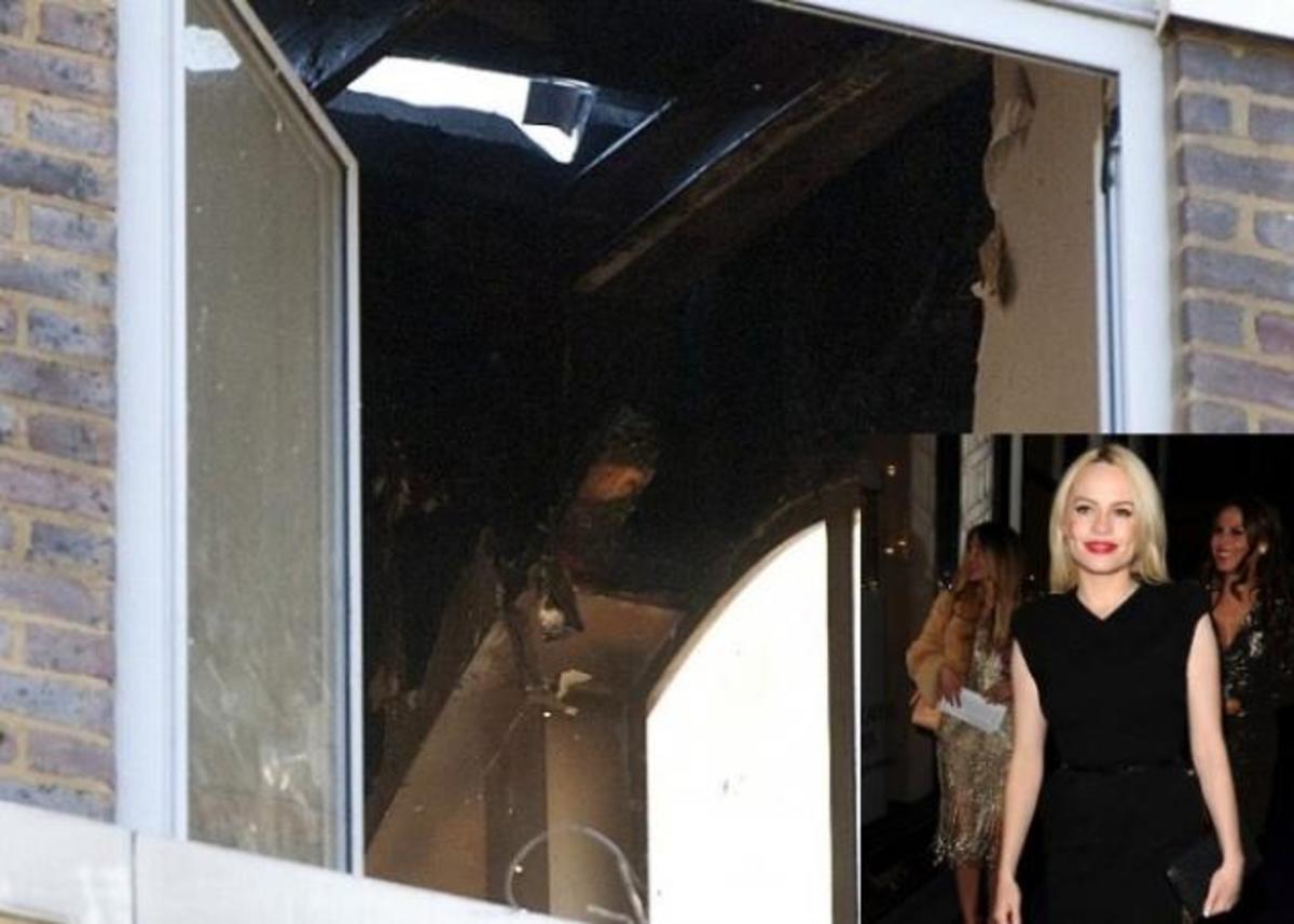 Στις φλόγες το σπίτι της Duffy! Δες τις φωτό! | Newsit.gr