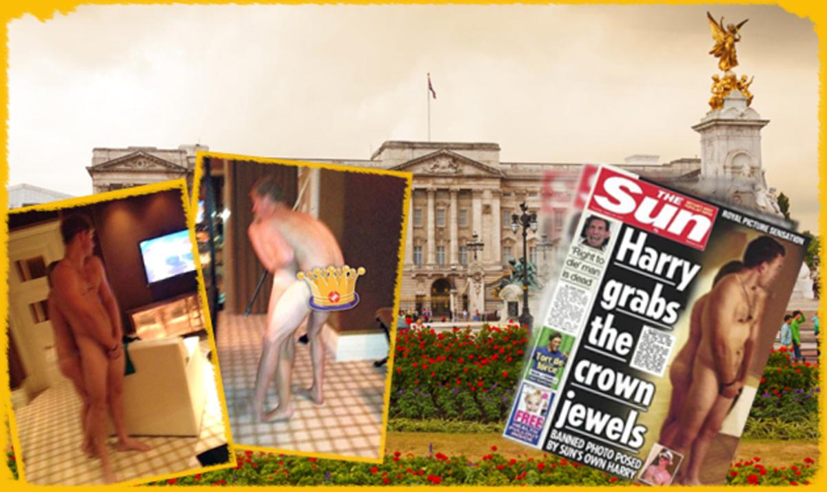 Όταν ο Harry αναστάτωσε το παλάτι! Οι γυμνές φωτογραφίες του πρίγκηπα πρώτο θέμα στην Αγγλία | Newsit.gr