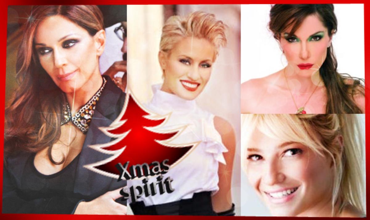 Οι celebrities μπήκαν από νωρίς στο πνεύμα των γιορτών! Φωτογραφίες   Newsit.gr