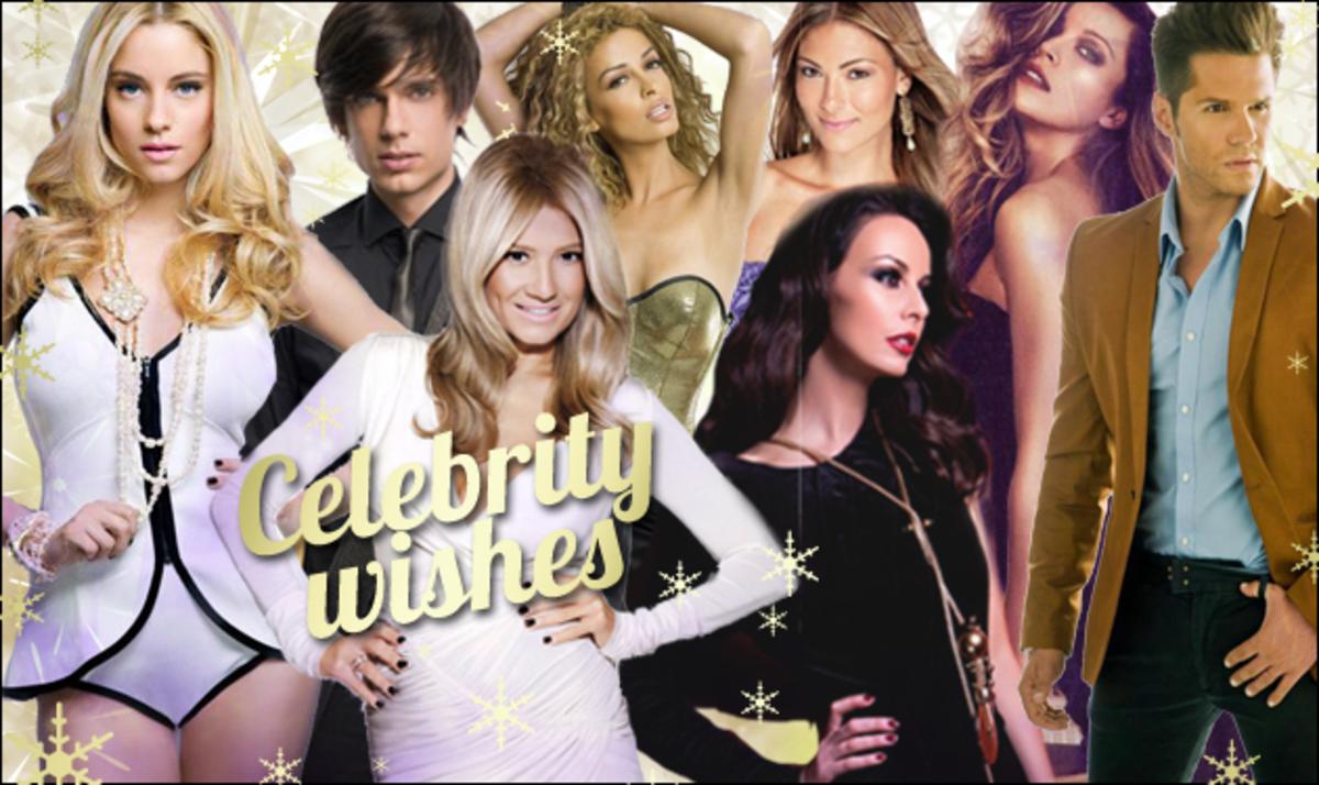 Oι ευχές των celebrities στο TLIFE για το 2013 και οι περίεργες εορταστικές ιστορίες τους! | Newsit.gr