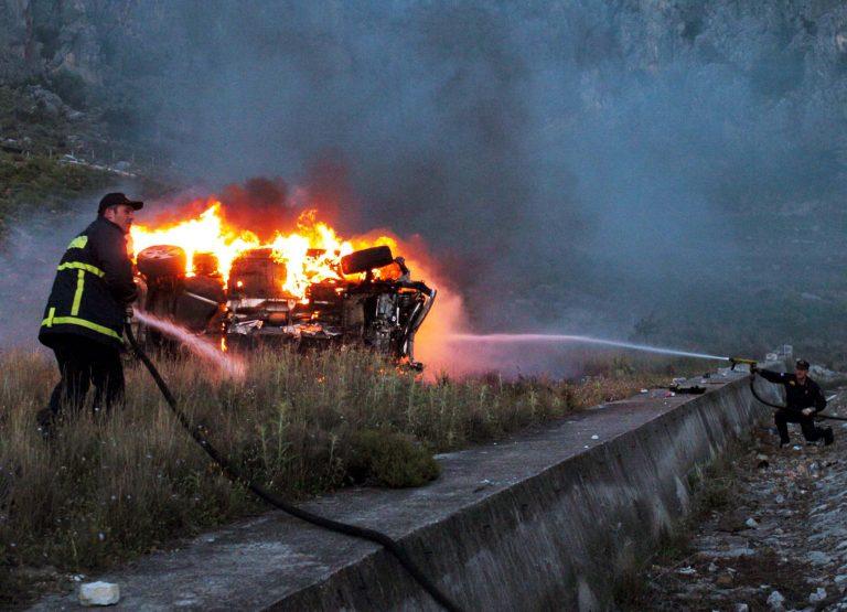 Αίγιο: Τραγικός θάνατος για 65χρονο επιχειρηματία – Κάηκε ζωντανός μέσα στο αυτοκίνητό του | Newsit.gr