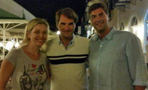 Ναύπλιο: Διακοπές για τον βασιλιά του τένις – Τα χαμόγελα του Roger Federer [pic]