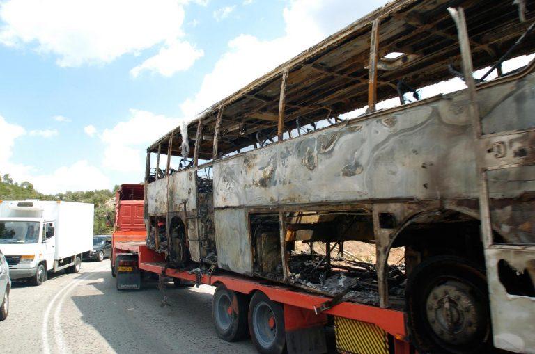 Βέροια: Το ταξίδι του τρόμου – Πήρε φωτιά τουριστικό λεωφορείο! | Newsit.gr