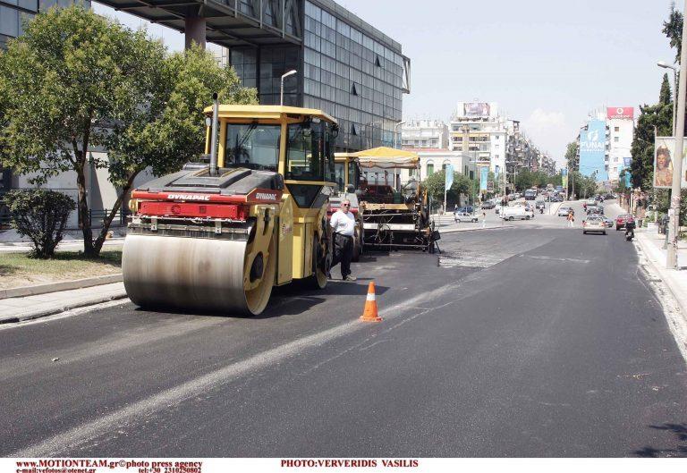 Κλειστό το ρεύμα της εξόδου της οδού Λαγκαδά | Newsit.gr