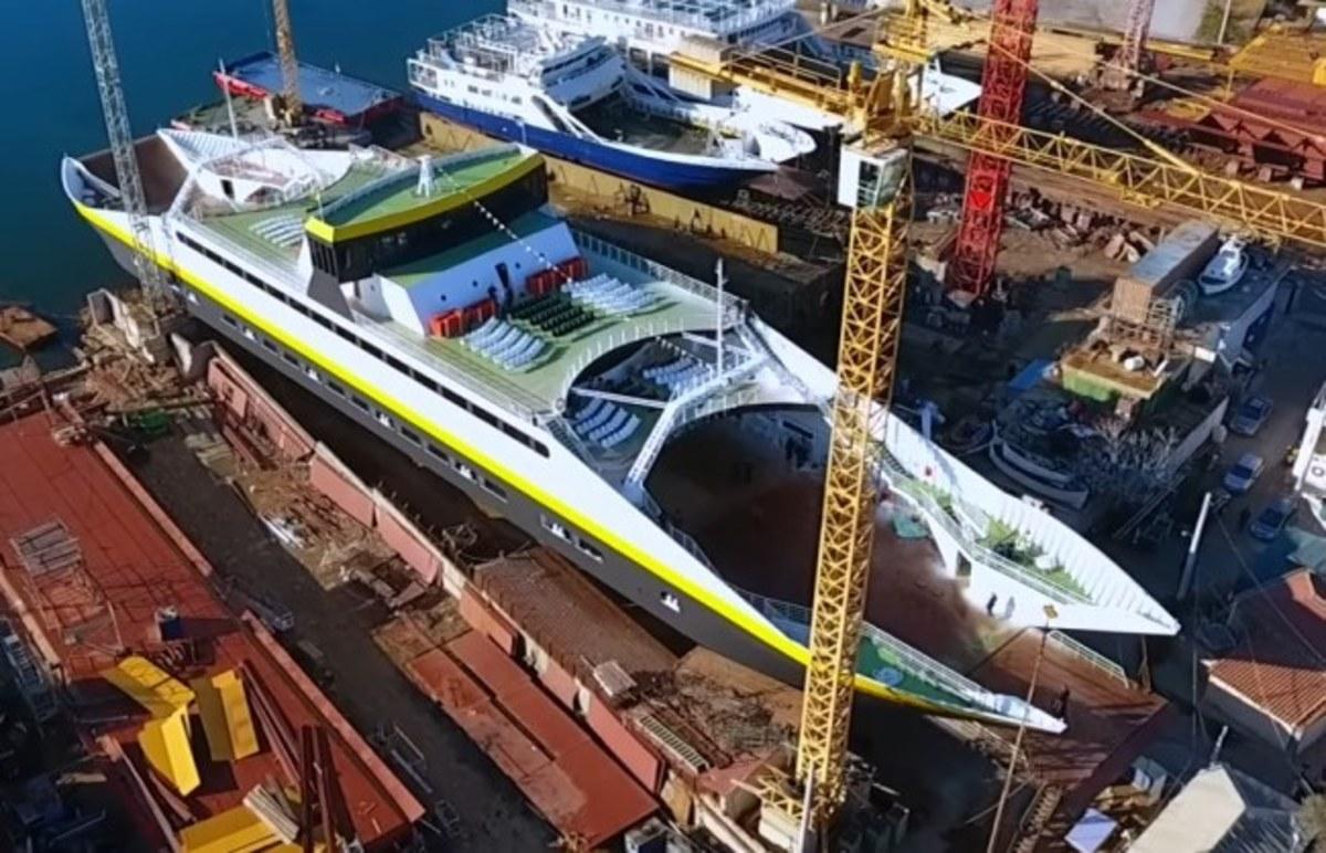 Σαλαμίνα: Έτοιμο το ελληνικό οχηματαγωγό πλοίο που στοχεύει τις διεθνείς αγορές [pic] | Newsit.gr