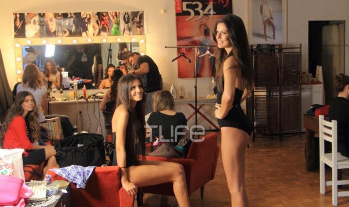 Στην τελική ευθεία για τα καλλιστεία! Backstage φωτογραφίες από τις πρόβες των κοριτσιών | Newsit.gr