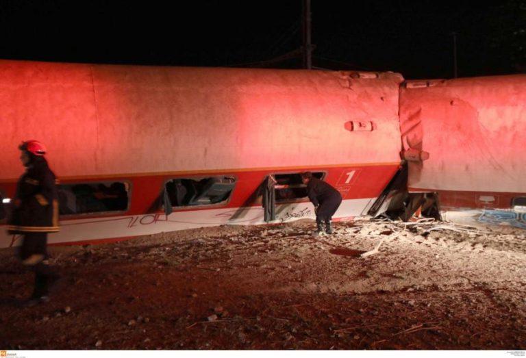 Εκτροχιασμός τρένου: Η υπερβολική ταχύτητα η αιτία της τραγωδίας – Το πόρισμα | Newsit.gr