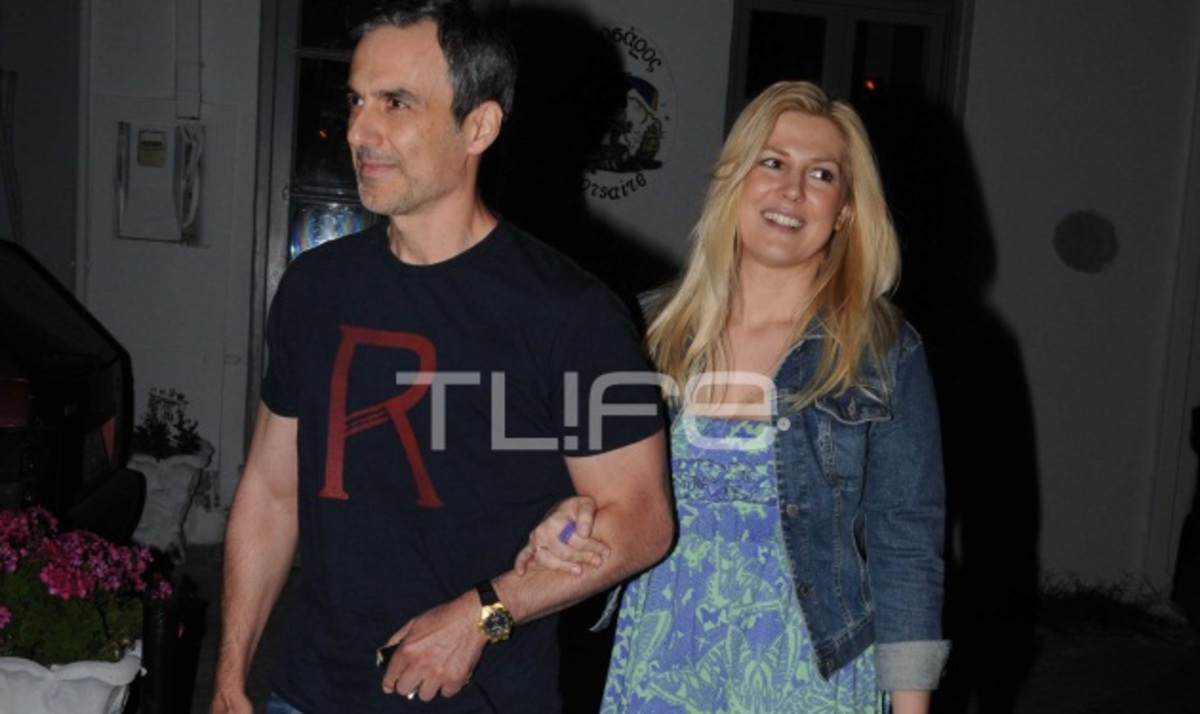 Ρ. Θρασκιά: Απόδραση στην Τήνο μαζί με τον σύζυγό της! | Newsit.gr
