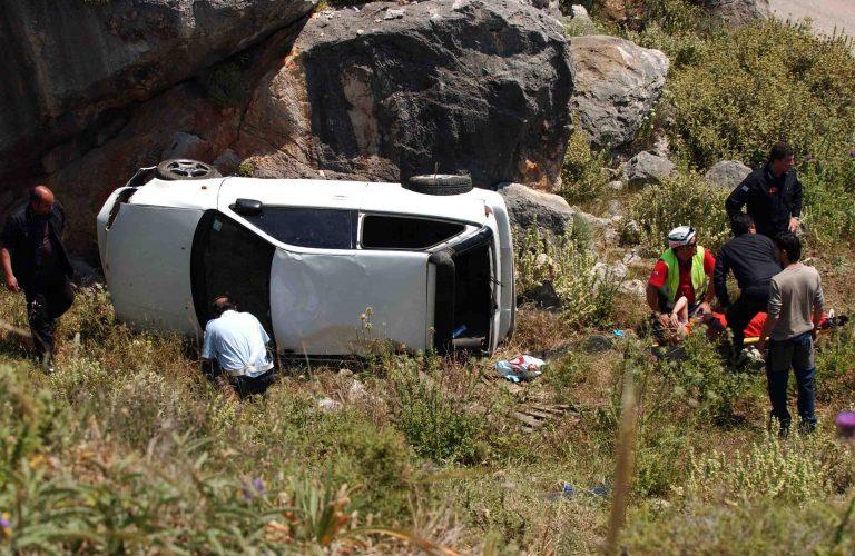 Καρπενήσι: Αυτοκίνητο έπεσε σε γκρεμό! | Newsit.gr