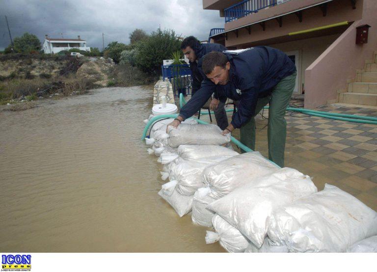 Χανιά: Προβλήματα από τις έντονες  βροχοπτώσεις | Newsit.gr