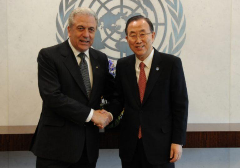 Τον γ.γ του ΟΗΕ ενημέρωσε ο Αβραμόπουλος για τις τουρκικές παρανομίες στο Αιγαίο | Newsit.gr