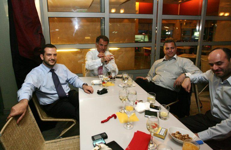 Δείπνο Αδαμίδη – παικτών | Newsit.gr