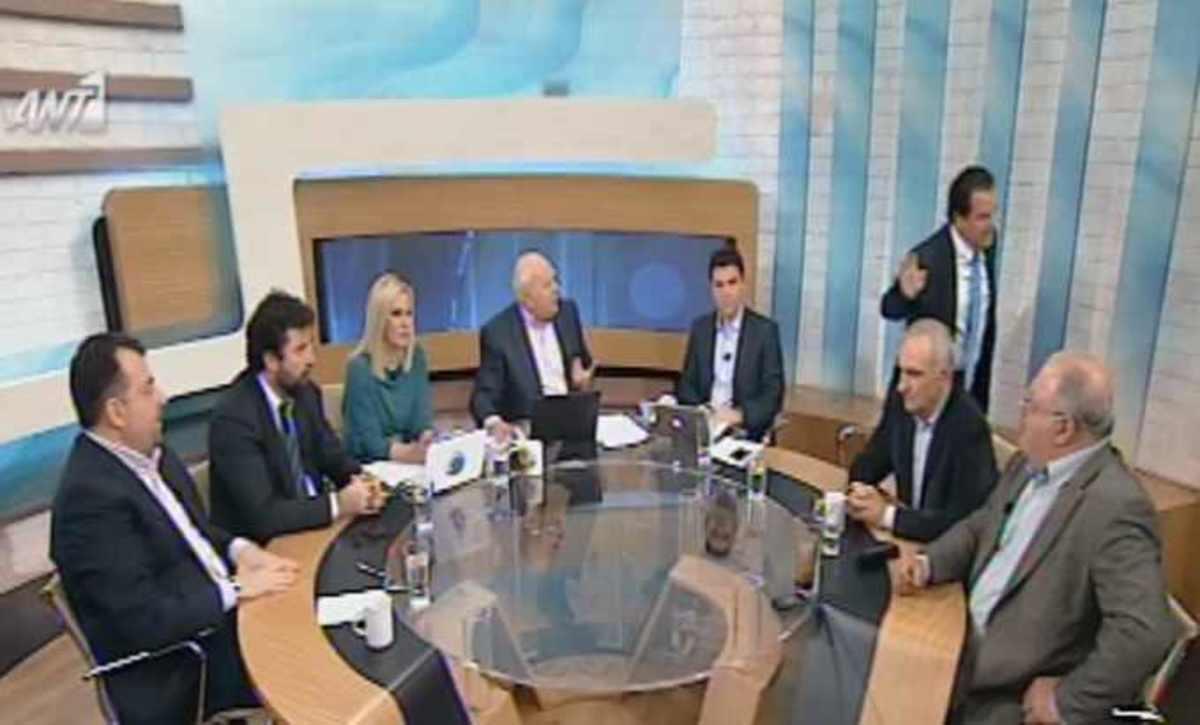 Ο Παπαδάκης αποκάλεσε «μπουμπούκο» τον Άδωνι! Αποχώρησε έξαλλος από την εκπομπή! ΒΙΝΤΕΟ | Newsit.gr