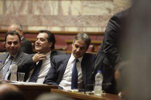 """Εκλογές ΝΔ: Κυριάκος Μητσοτάκης: """"Άδωνι σε ευχαριστώ""""!"""