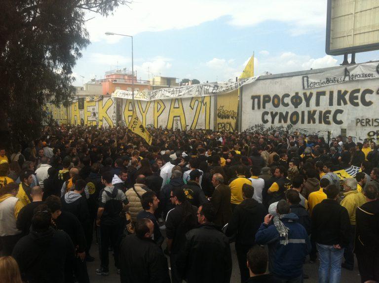 Διαμαρτυρήθηκαν για την ΑΕΚ της… καρδιάς τους   Newsit.gr