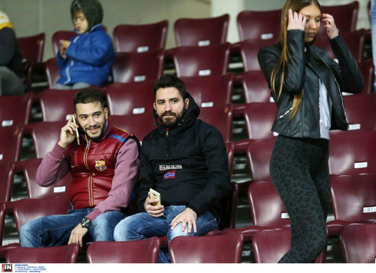 ΑΕΛ – ΑΕΚ: Είδαν μεγάλη «μπάλα» στην εξέδρα [pics]   Newsit.gr