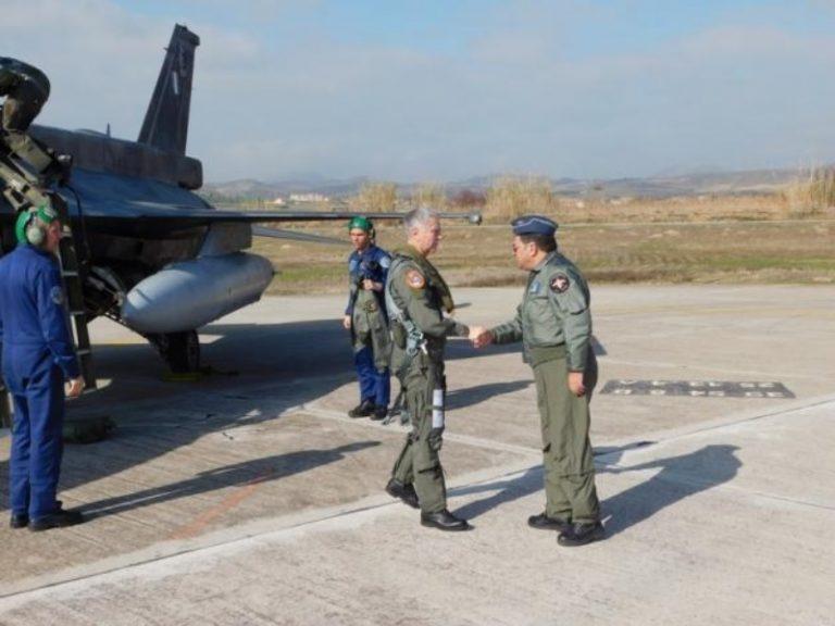 Λήμνος: Ο Αρχηγός της Αεροπορίας απέναντι στην τουρκική προκλητικότητα [pics] | Newsit.gr