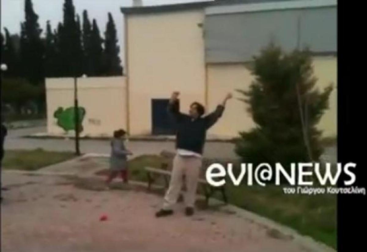 Εύβοια: Μόνο οι τολμηροί πέταξαν χαρταετό – ΒΙΝΤΕΟ | Newsit.gr