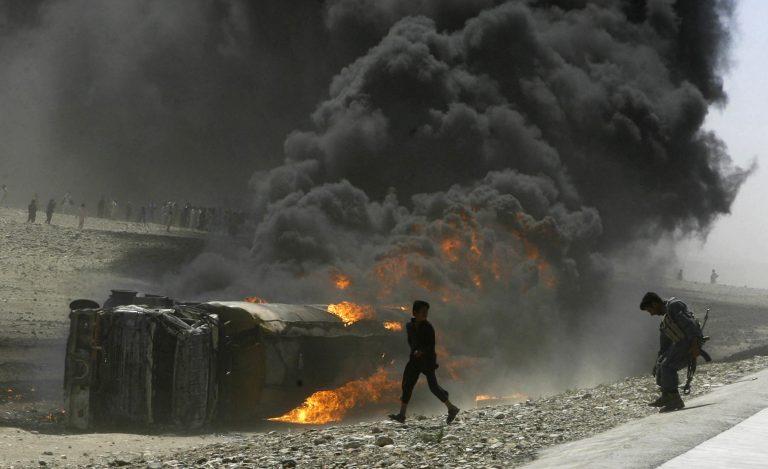 25 νεκροί Ταλιμπάν απο νατοϊκούς βομβαρδισμούς | Newsit.gr