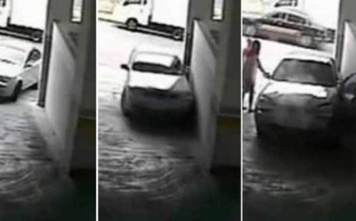 Γυναίκα οδηγός καταστρέφει αυτοκίνητο σε ενάμιση λεπτό! | Newsit.gr