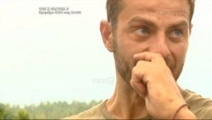 Survivor: Δεν άντεξε και δάκρυσε ο Αγγελόπουλος! [vid]