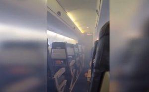 Τρόμος στον αέρα! Γέμισε καπνό η καμπίνα – Ούρλιαζαν οι επιβάτες [vid]