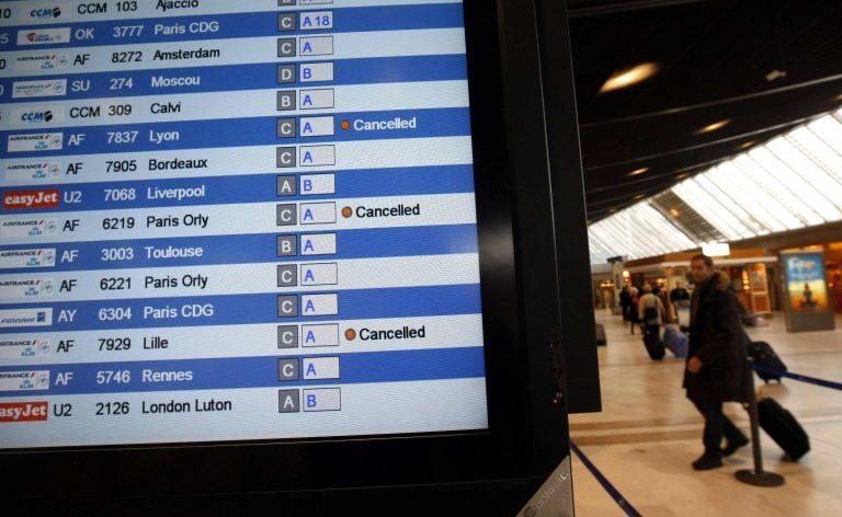 Προβλήματα στις πτήσεις σε Γαλλία και Αγγλία | Newsit.gr