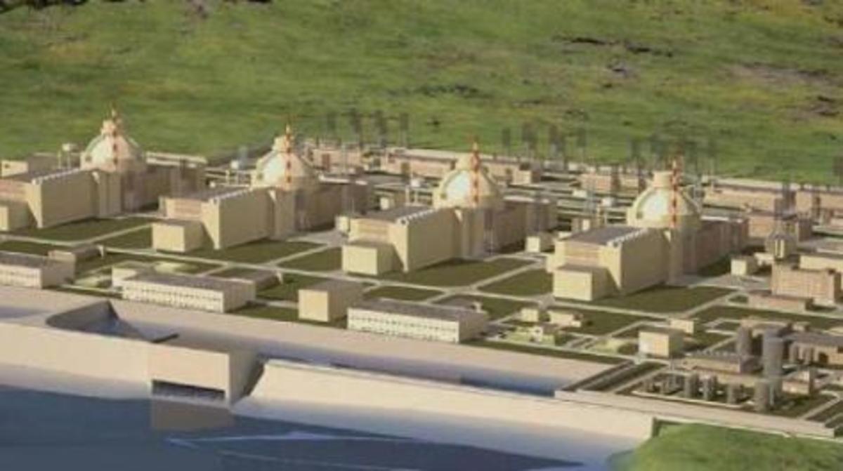 Αυτό είναι το πυρηνικό εργοστάσιο της 'Ακκουγιου της Τουρκίας. | Newsit.gr