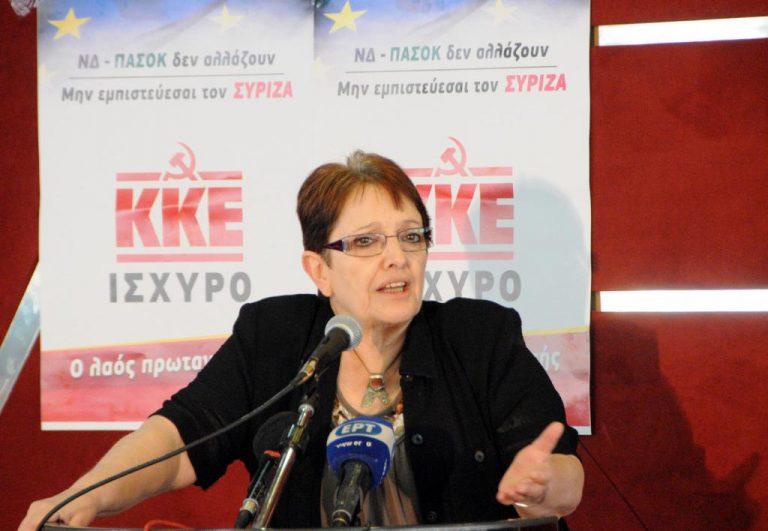 """Α.Παπαρήγα: """"'Ανθρακες ο θησαυρός"""" το πρόγραμμα του ΣΥΡΙΖΑ   Newsit.gr"""